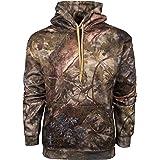 cfd0be66004bf Amazon.com: Gamehide Unisex Deer Camp Woodland Fleece Full Zip ...
