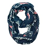 NFL New England Patriots  Sheer Infinity Scarf