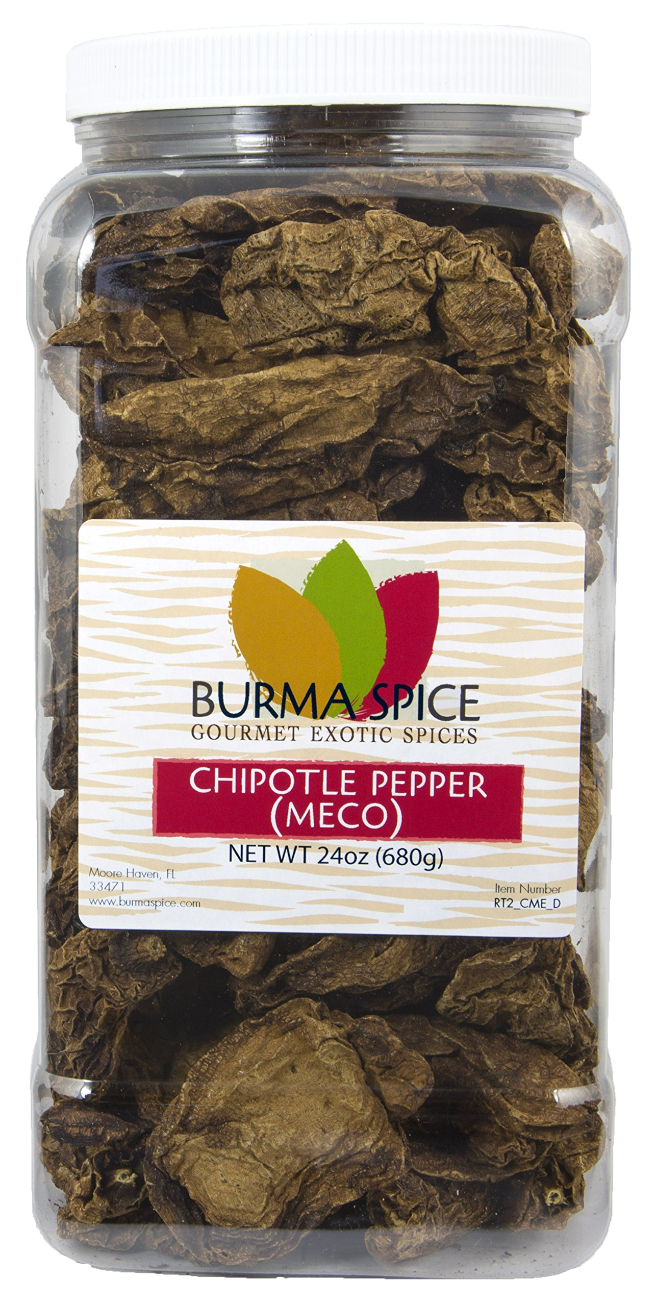 Dried Meco Chipotle Pepper : Whole Seasoning Spice Kosher Certified (24oz.)