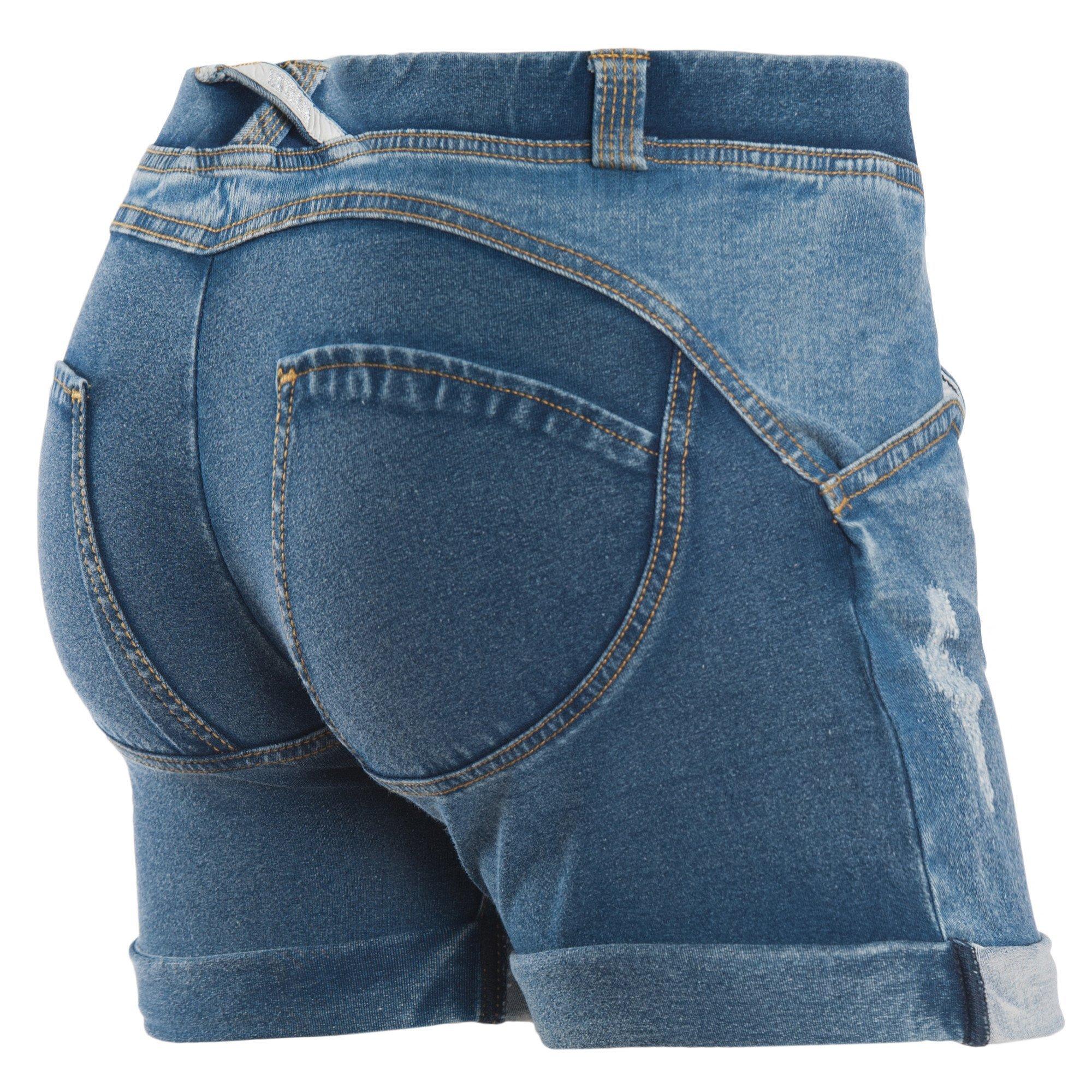 Freddy WR.UP Distressed Denim Shorts