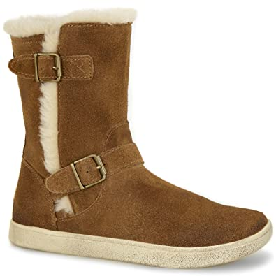 6db43e627e3 UGG Kids Girl's Barley (Toddler/Little Kid/Big Kid) Brown