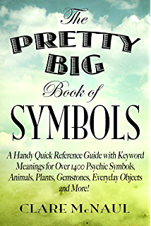 Amazon the book of psychic symbols interpreting intuitive the pretty big book of symbols a handy quick reference guide with keyword meanings for fandeluxe Gallery