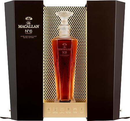 Macallan No. 6en Lalique–Decantador con Regalo Whisky del paquete (1x 0,7l)