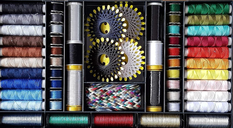 Bo/îte de 8/bobines de fil /à couture fils et bobines