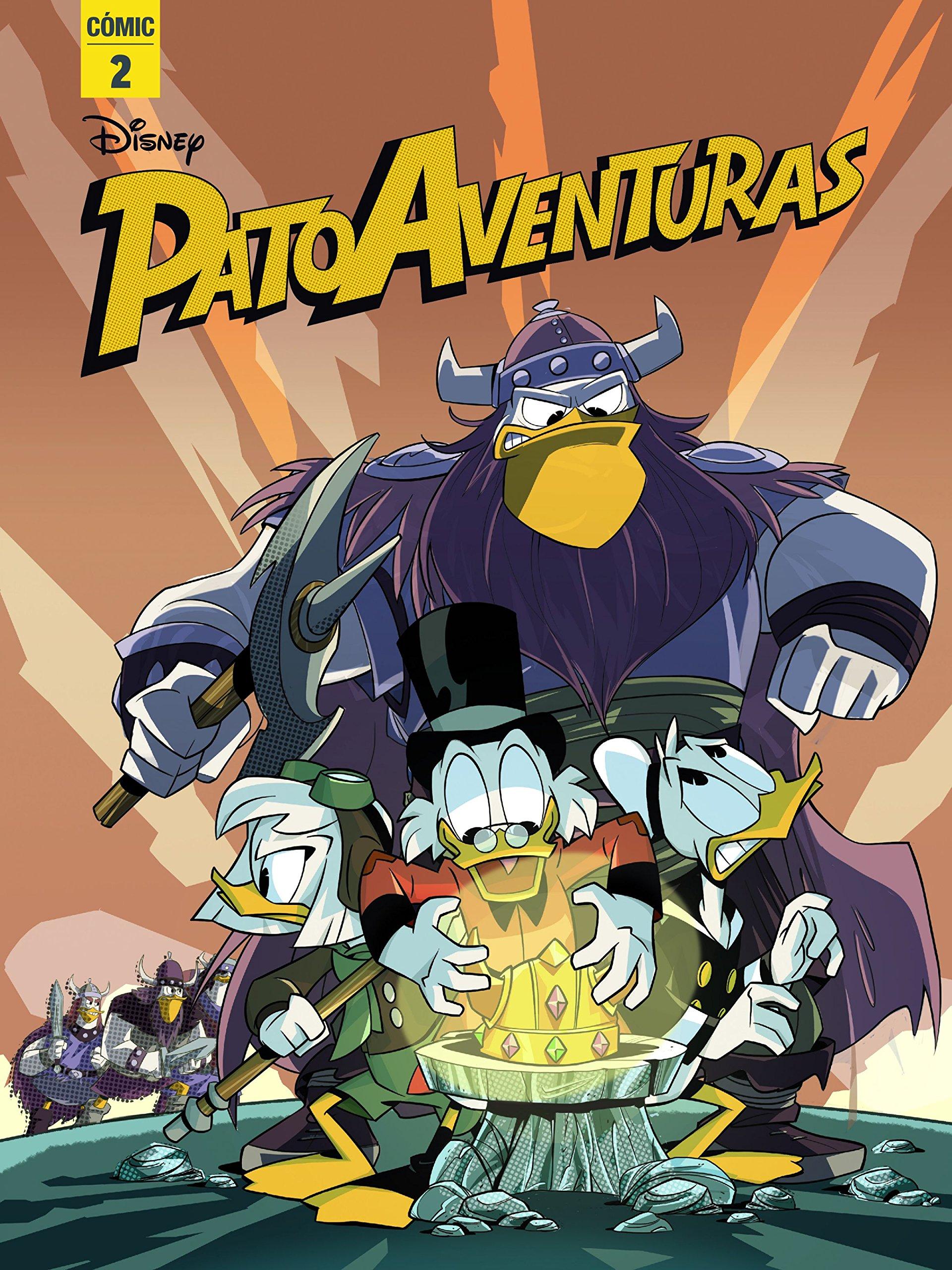 Patoaventuras 2: Cómic (Disney. Patoaventuras): Amazon.es: Disney, Editorial Planeta S. A.: Libros
