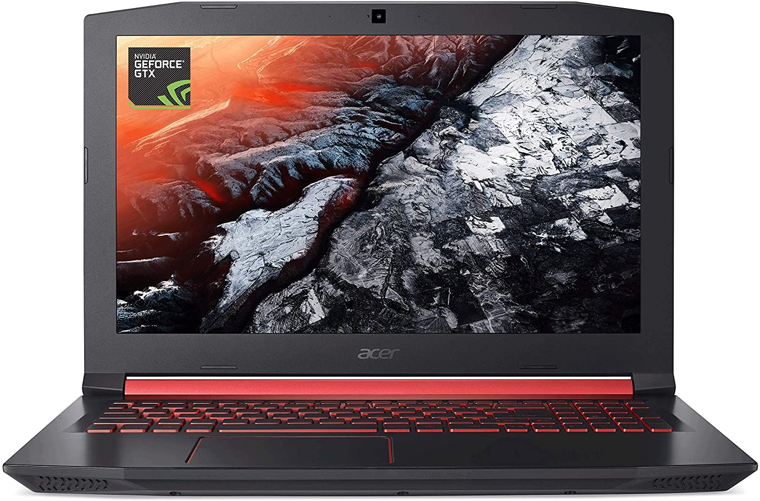 Acer Nitro 5, 7th Gen Intel Core i5-7300HQ, GeForce GTX 1050, 8GB DDR4, 256GB SSD, Windows 10 Home, Shale Black, AN515-51-56U0