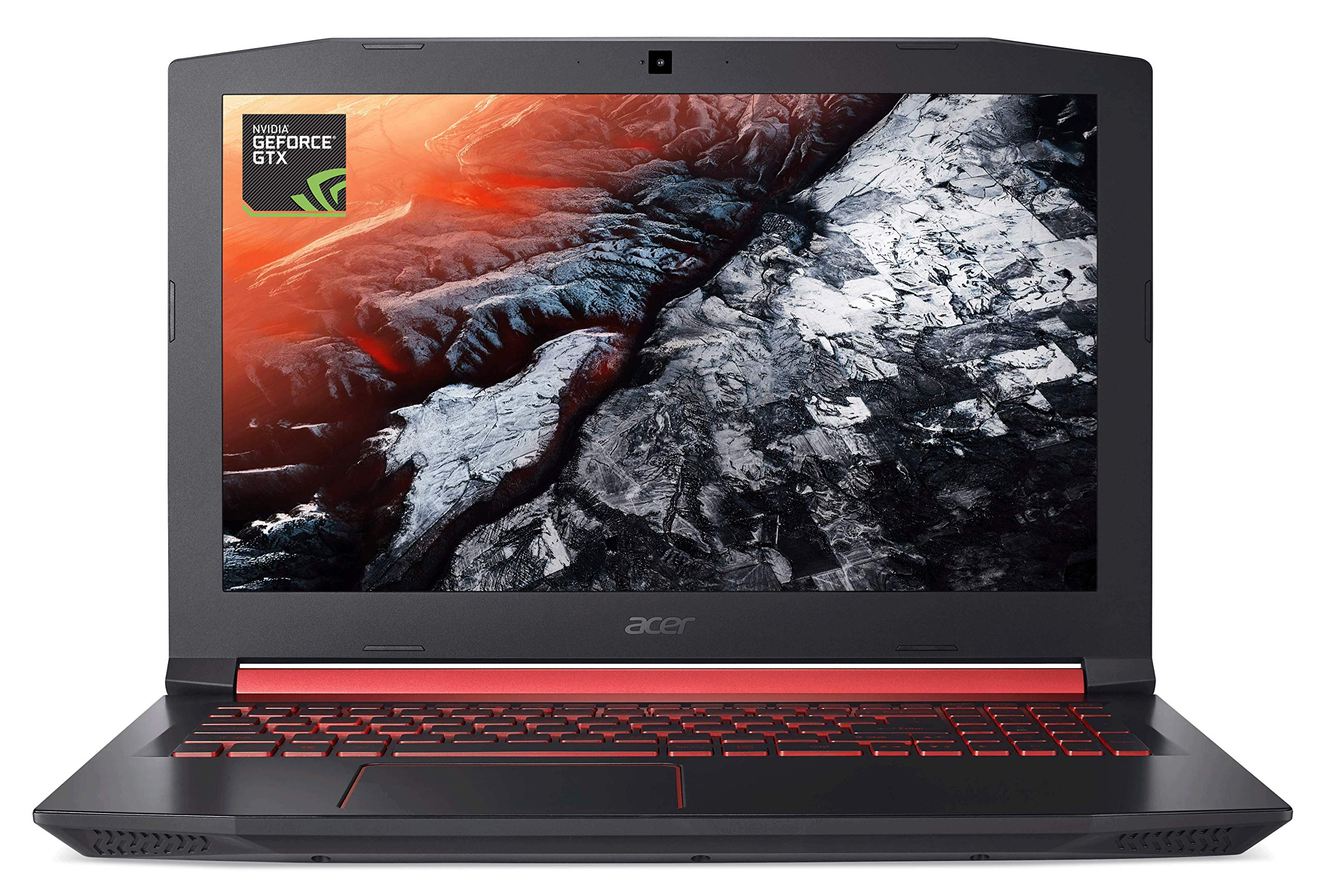 Acer Nitro 5 Gaming Laptop, Intel Core i5-7300HQ, GeForce GTX 1050 Ti, 15.6″ Full HD, 8GB DDR4, 256GB SSD, AN515-51-55WL