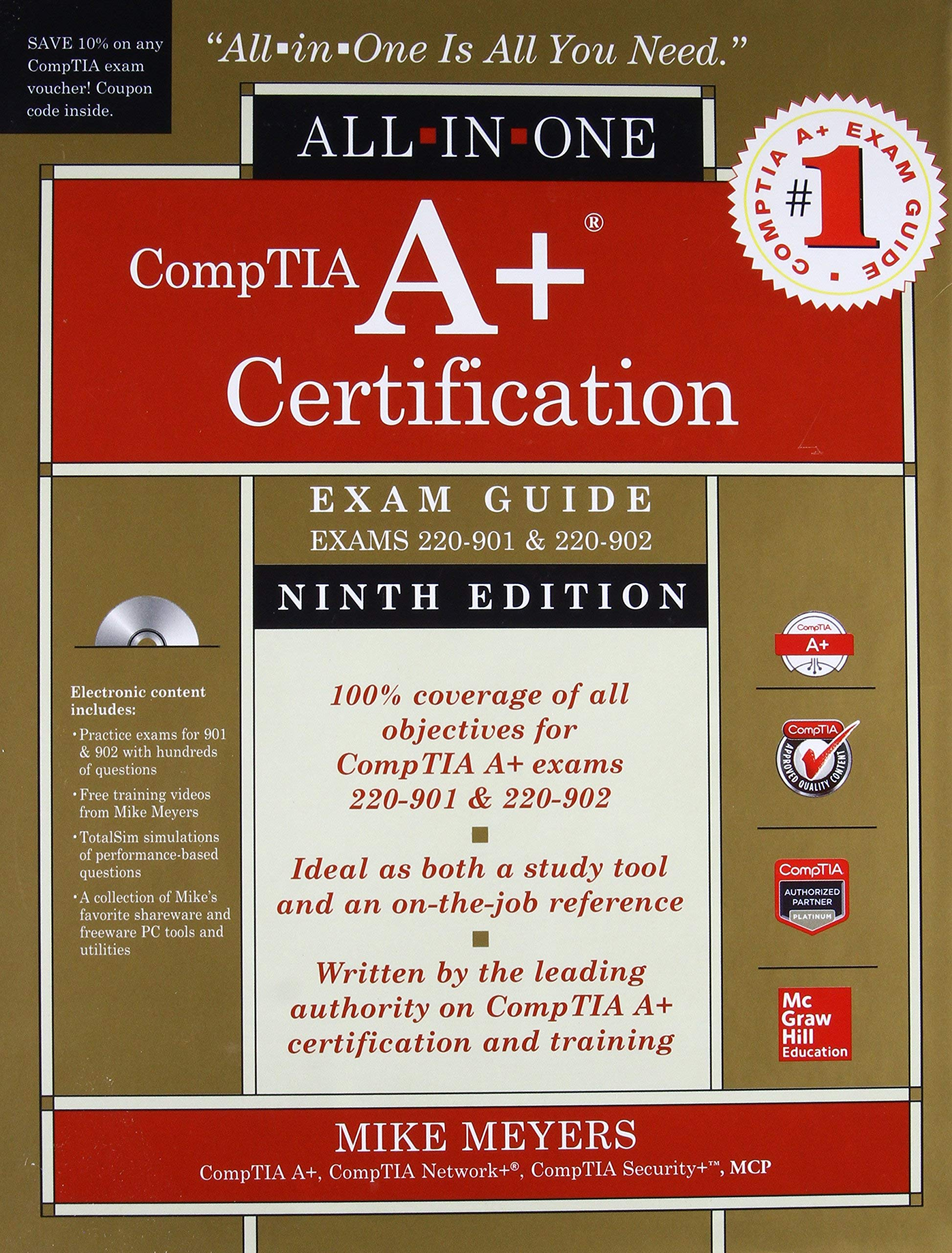 CompTIA A+ Certification All-in-One Exam Guide, Ninth Edition ...