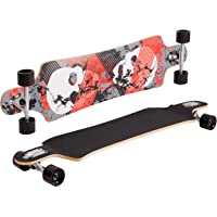 SportPlus Longboard, Canadian-Maple, PUC Rollen, ABEC-7 Chrome-Bearings, komplett montiert, Verschiedene Shapes und Styles