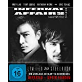 Infernal Affairs 1-3  - Trilogie - Uncut/Steelbook [Blu-ray]