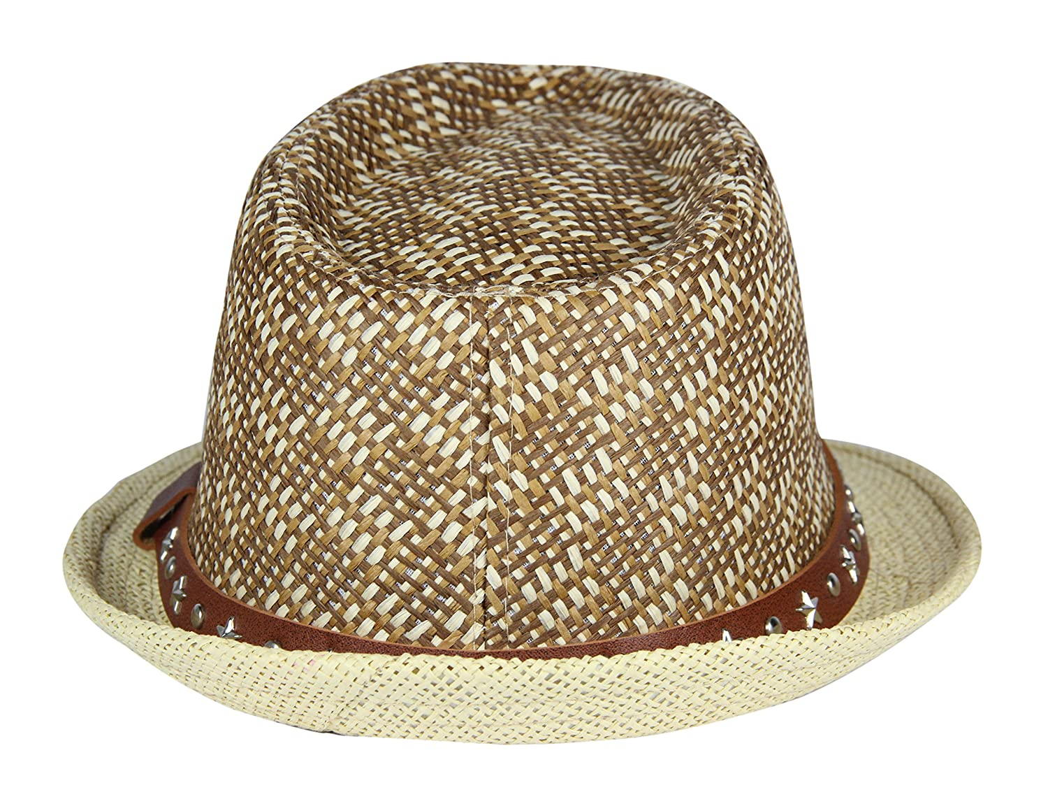 4e36b514619 Buy FabSeasons Brown Casual Fedora Hats Online at Low Prices in India -  Amazon.in