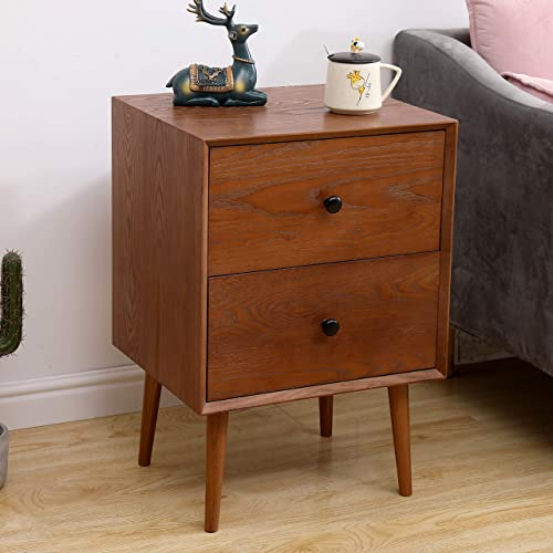 Best modern nightstand: 2 Drawer Nightstand Modern Nightstand