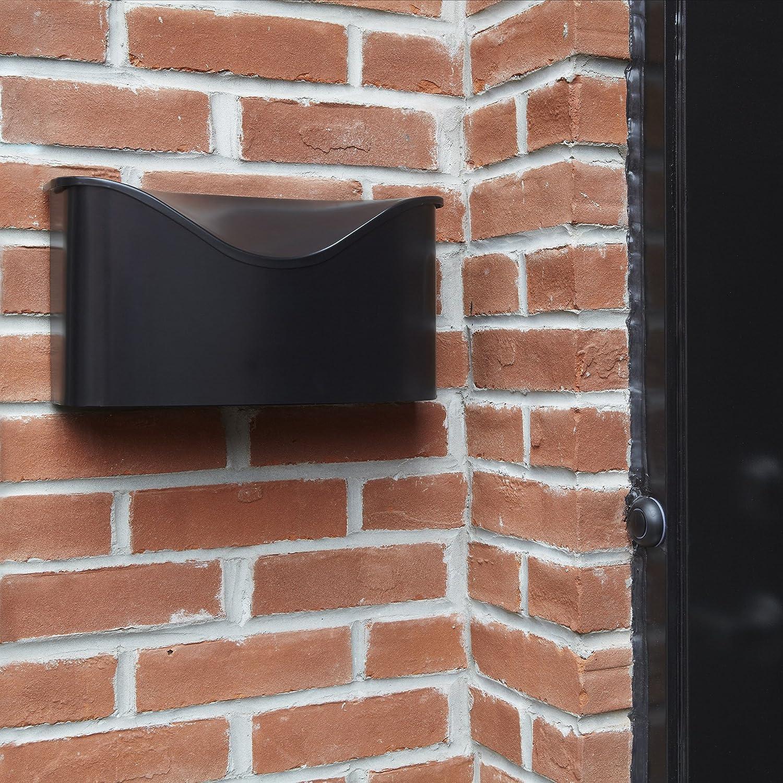 Umbra Postino WallMount Mailbox Black Amazoncom