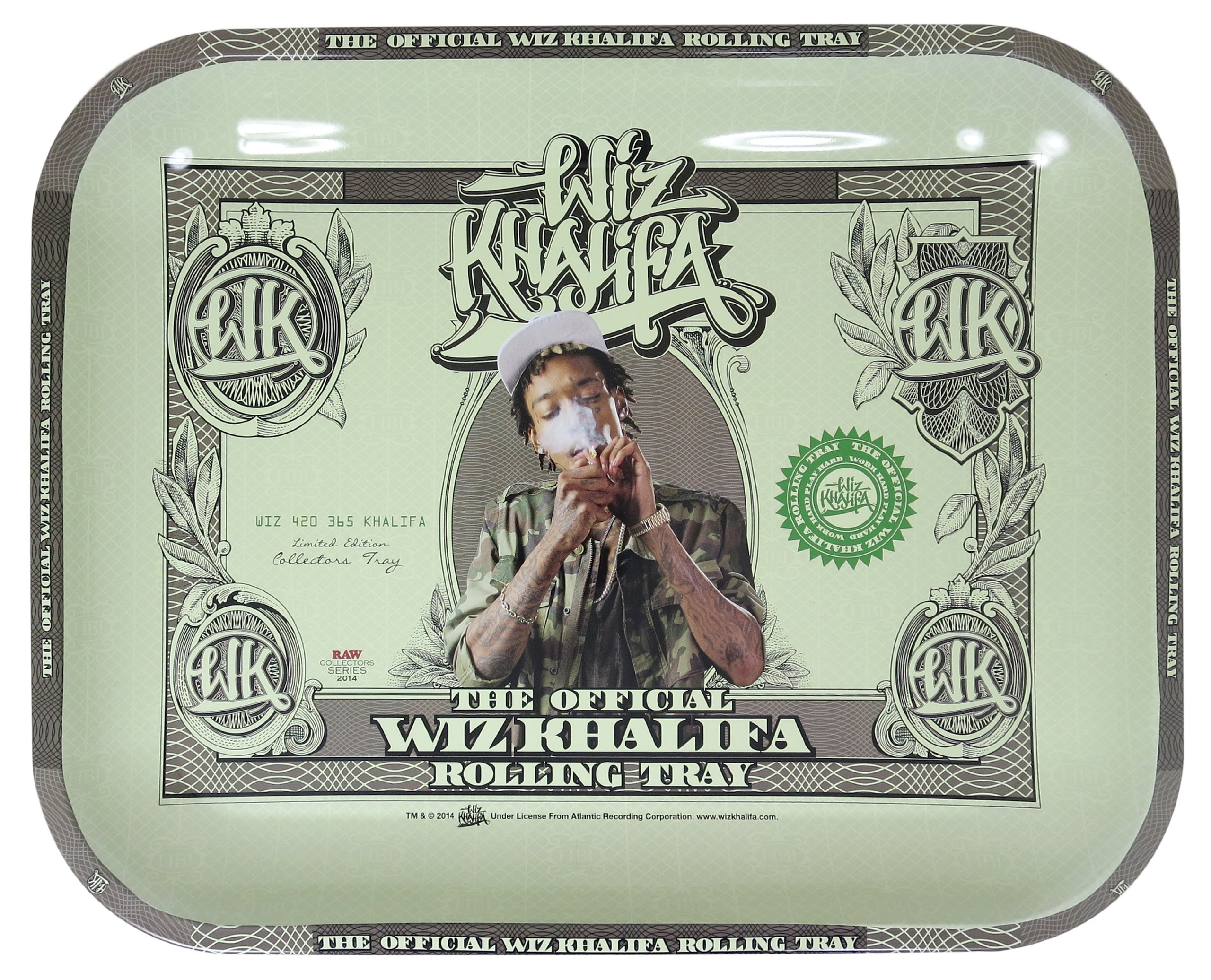 Raw Rolling Tray Wiz Khalifa Limited Edition Large