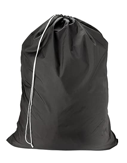 df80eff20c Nylon Laundry Bag - Locking Drawstring Closure and Machine Washable. These Large  Bags will Fit