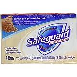 Safeguard Deodorant Antibacterial Deodorant Soap, Beige, 16 Ounce