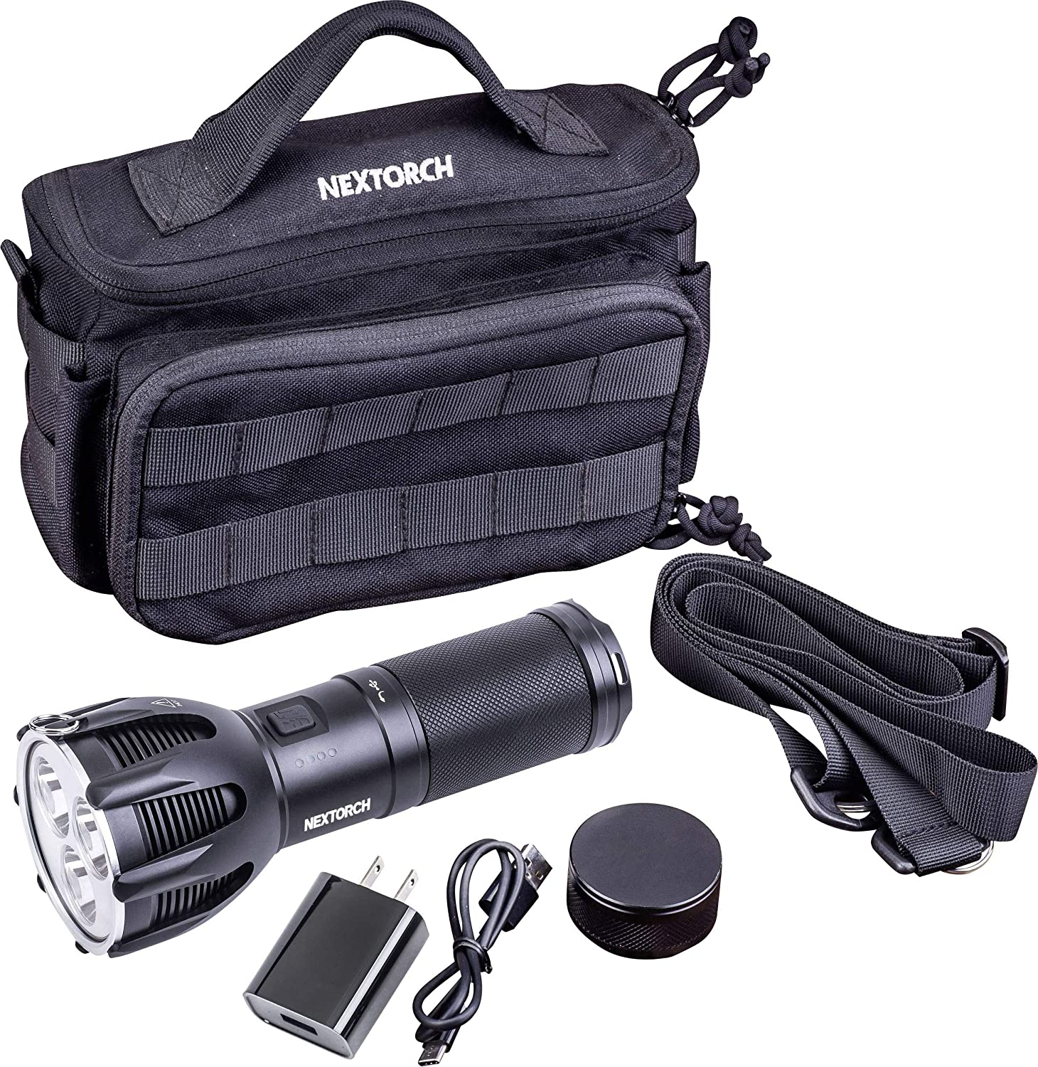 NEXTORCH High Performance LED Taschenlampe Saint Torch 30 mit 5600 Lumen (TM)