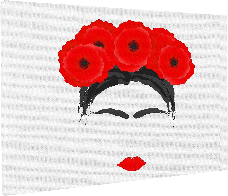 REITANO GROUP Lienzo artístico de Frida Kahlo Feminismo Revolution, 50 x 70 cm, Cuadro de Cuadro de Madera, T186: Amazon.es: Juguetes y juegos