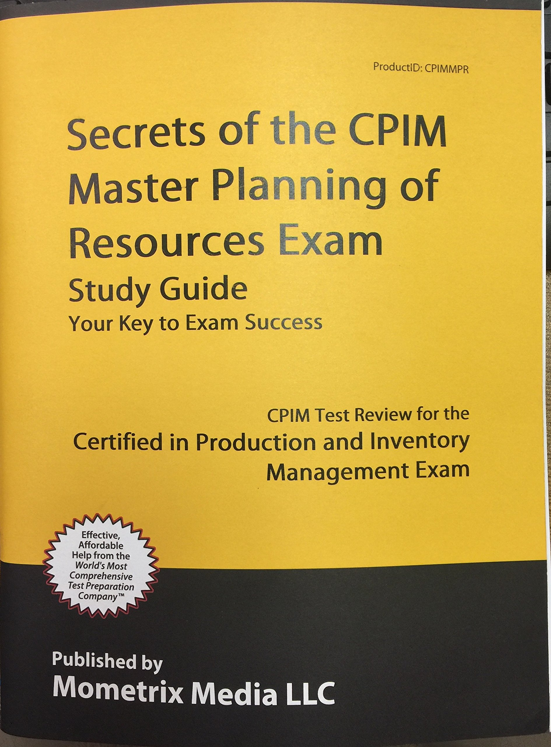 Secrets of the CPIM Execution and Control of Operations Exam