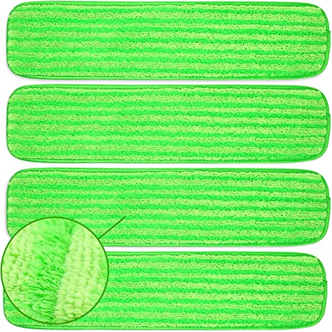 Compatible with Rubbermaid Reveal Spray Mop,Libman,Cxhome,Norwex and Bona Mop Pack of 3 Reveal Spray Mop Replacement Microfiber Mop Pads for Dry//Wet Mopping Washable Mop Refills for Floor Cleaning