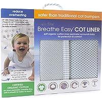 Bubba Blue Breathe Easy Cot Liner, Grey,