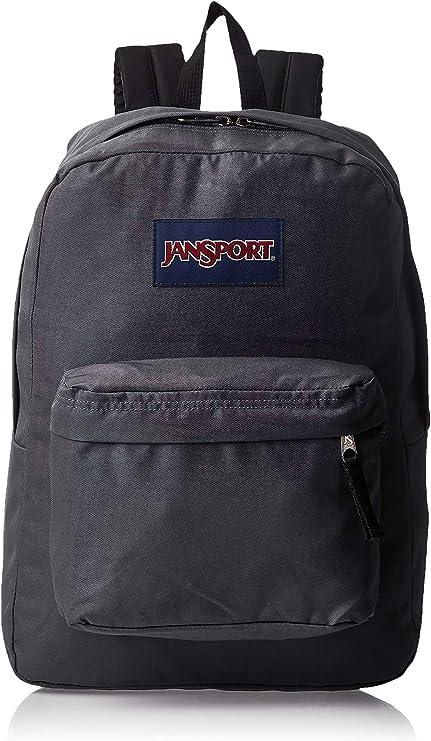 JANSPORT Super Break Backpack Deep Grey JS00T5015L8 Schoolbag