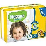 Huggies Unistar Pannolini, Taglia 6 (15-30 kg), 6 Confezioni da 16 [96 Pannolini]