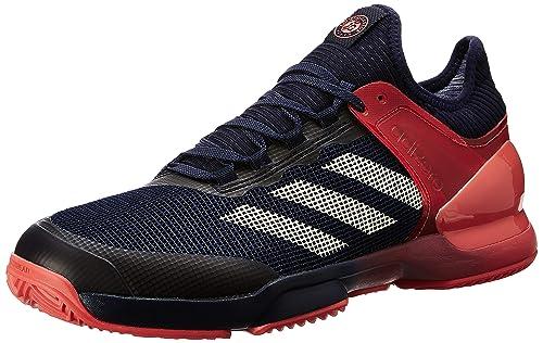 super popular e99a0 69b98 Adidas Adizero Ubersonic 2 Clay, Scarpe da Tennis Uomo, Arancione  (MaosnoTincru