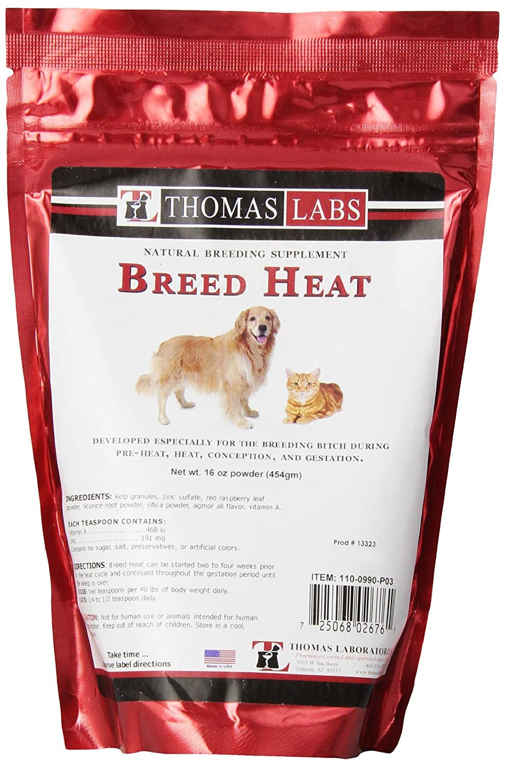 Breed Heat, 16 oz powder