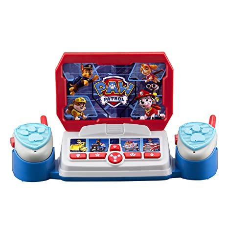 Paw Patrol Command Center With Kid Friendly Walkie Talkies And Speech Sound Effects