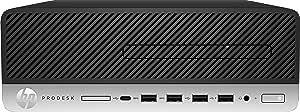 HP ProDesk 405 G4 - Mini ordenador de sobremesa profesional (AMD Ryzen 5 PRO 2400G, 16 GB RAM, 256 GB SSD , AMD Radeon RX Vega 11, Windows 10 Pro 64) negro y plata - incluye ratón y teclado en Español