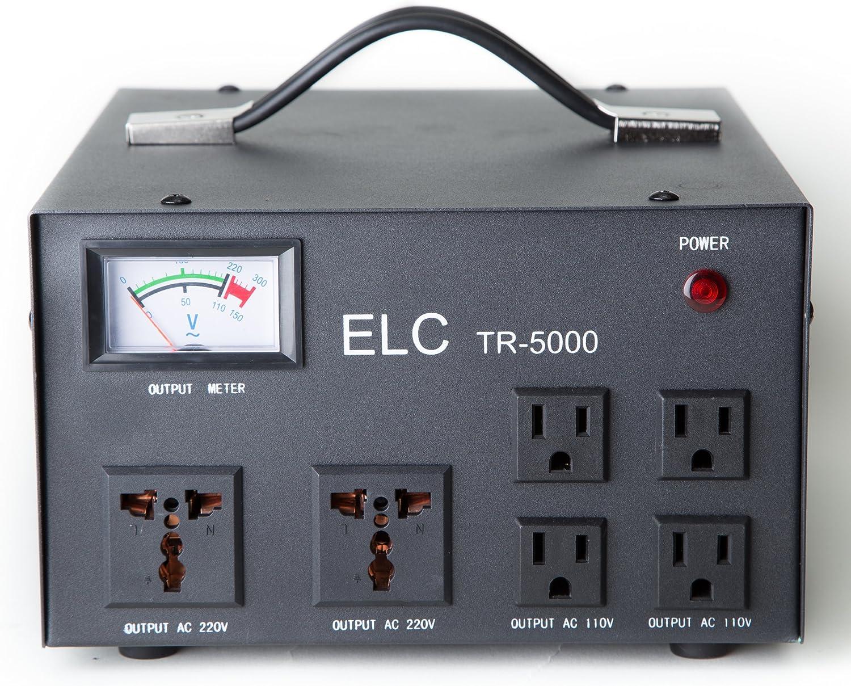 Circuit Breaker Protection Step Up//Down 110V//220V 3000 Watt Voltage Regulator with Transformer