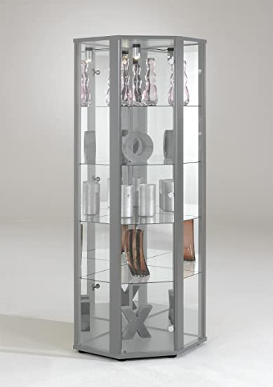 Vetrina angolare vetrina vetrinetta per collezionisti specchio ...
