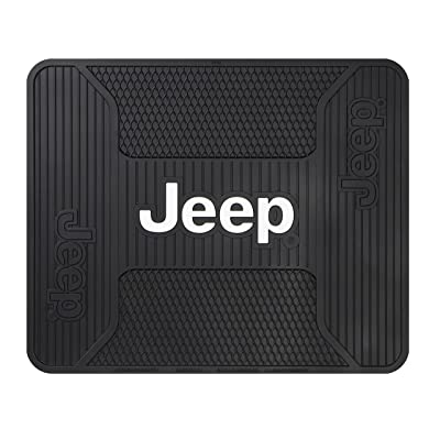Plasticolor 001222R01 Jeep Black Utility Mat: Automotive [5Bkhe0913028]