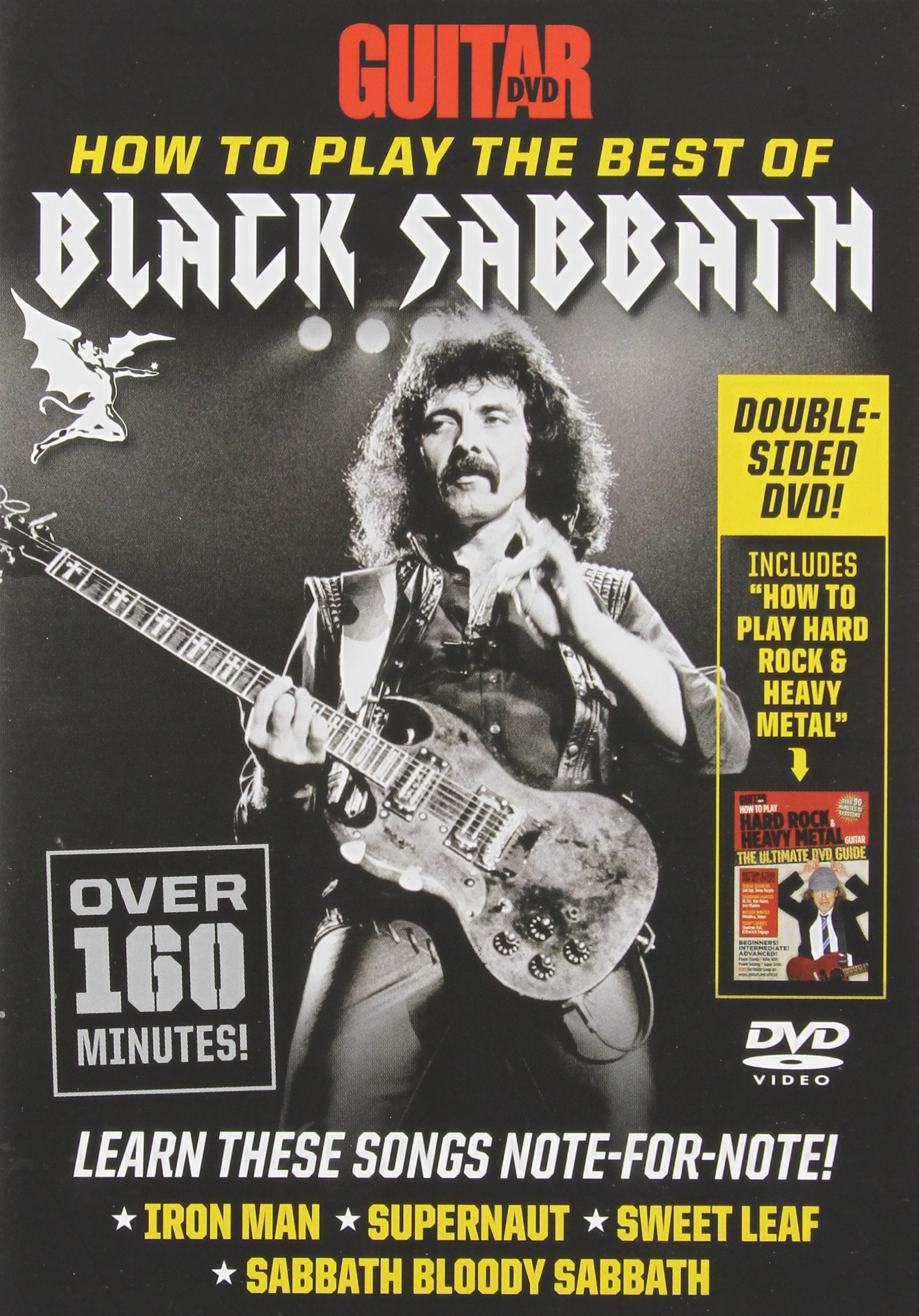 DVD : Andy Aledort - Guitar World: How To Play The Best Of Black Sabbath (DVD)