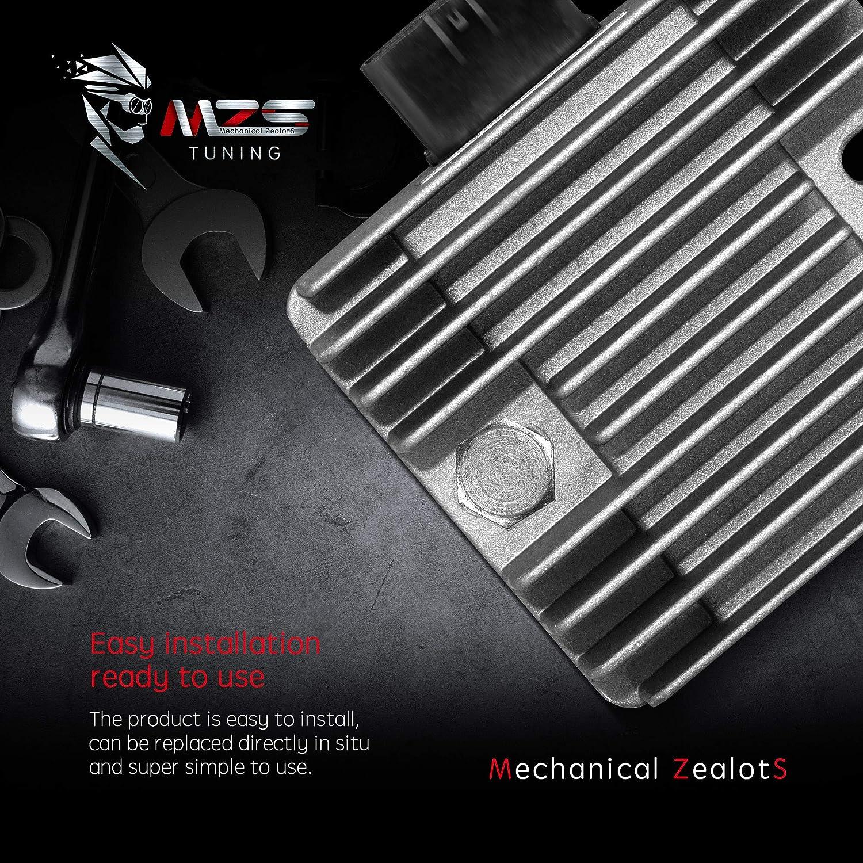 MZS Voltage Regulator Rectifier for ARCTIC CAT 500 650 700 1000//CAN-AM Outlander 330 400//Honda TRX 400 450 500//Suzuki LT-A 400 450 500 700 750//Yamaha XVS1100 YFZ450 YXR450 XP500 YFM660 YXR660 YFM700