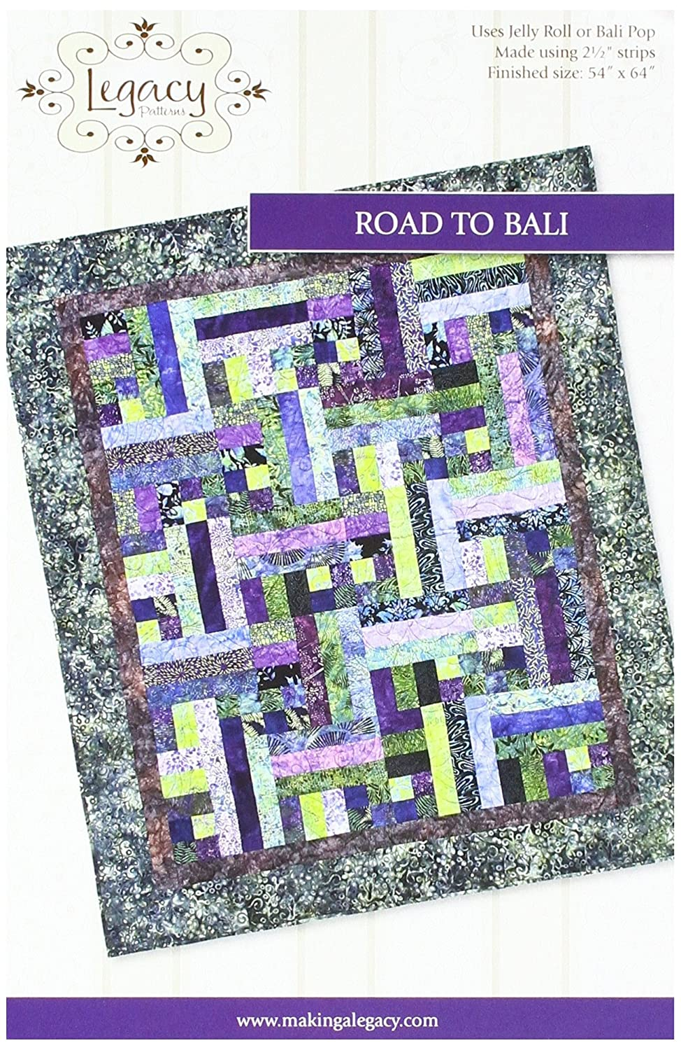 Legacy Patterns Road to Bali Quilt Pattern