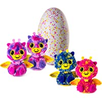 Hatchimals Surprise – Giraven – Hatching Egg with Surprise Twin Interactive Creatures by Spin Master