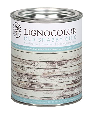 Kreidefarbe Shabby Chic Lack Landhaus Stil Vintage Look Chalky ...
