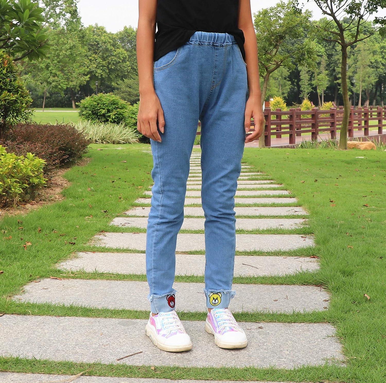 Amazon.com: Pantalones vaqueros para niñas grandes con ...