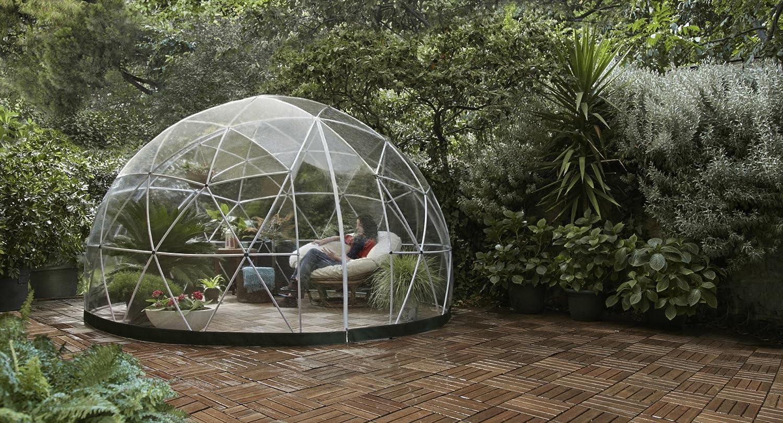 Garden Igloo 360 Pavillon Gewachshaus Garten Iglu Amazon De Garten