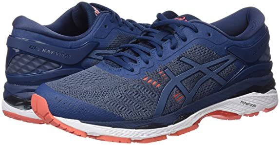Amazon.com | ASICS Mens Gel-Kayano 24 Running Shoe, 10.5, Blue | Road Running