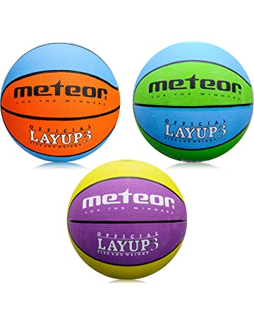 meteor Basketball Pelota Bebe Ball Infantil Baloncesto niño Balon Pelota  Basquet - Baloncesto niños - Talla 2c20326908e14