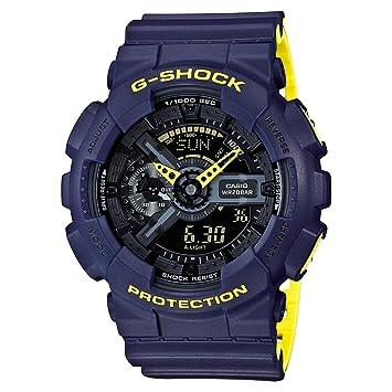 d31df6612 Amazon.com: Casio G-Shock GA110LN-2A Anti-Magnetic Resin Men's Watch ...