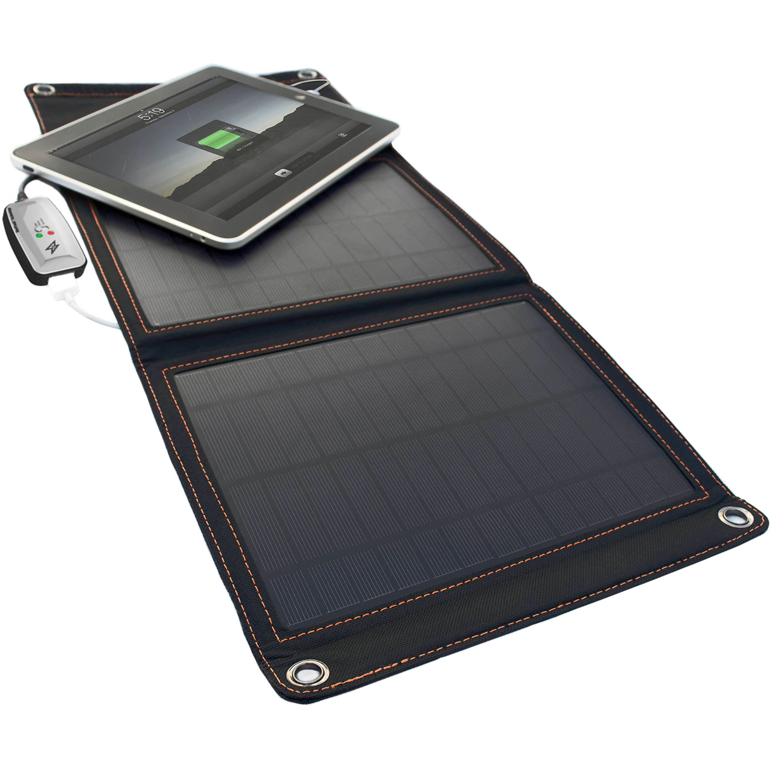 StrongVolt Portable Solar Charger with SunTrack Technology - 12 Watts