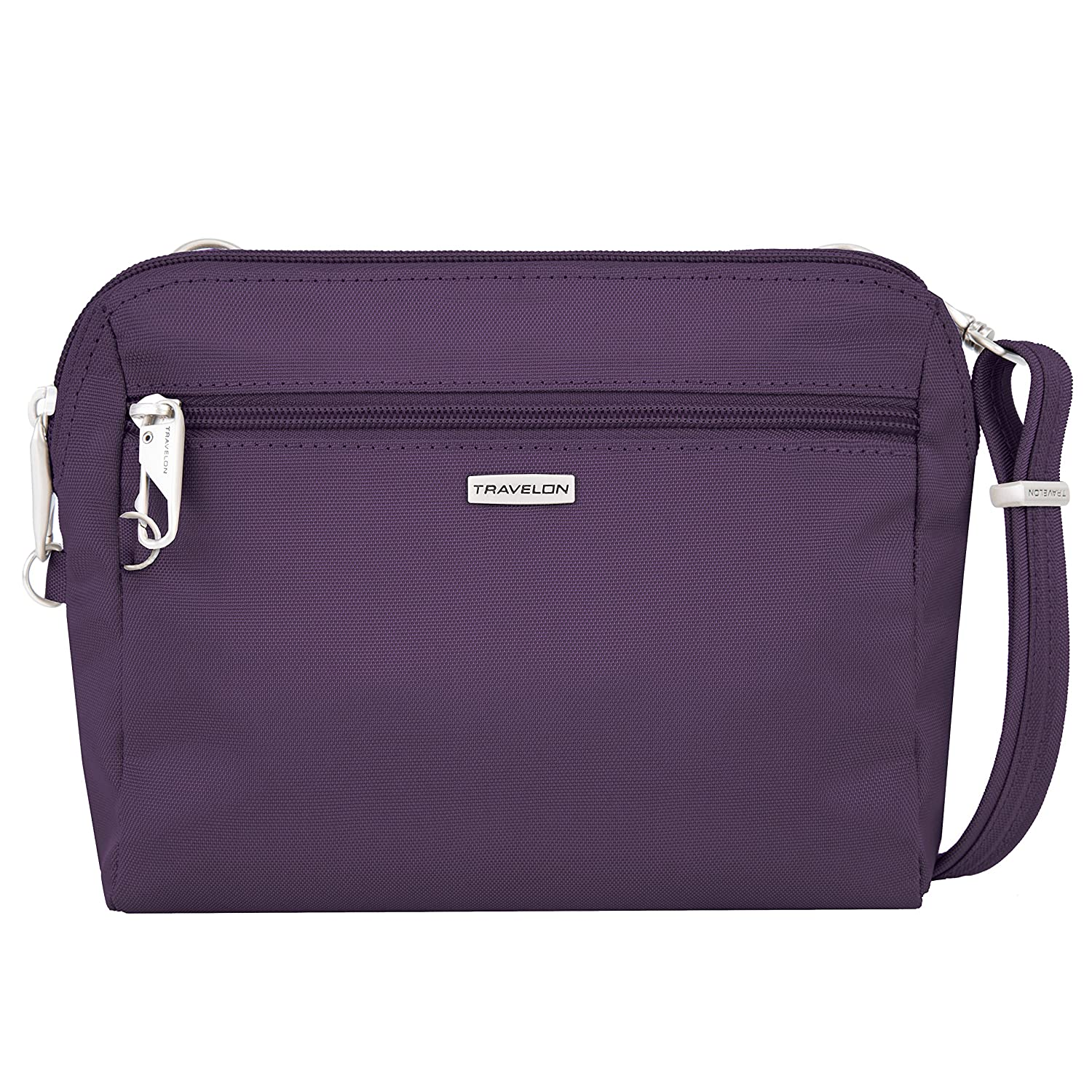 Travelon 43227 150 Classic Convertible Crossbody and Waist Pack, Purple, One Size TRBO3