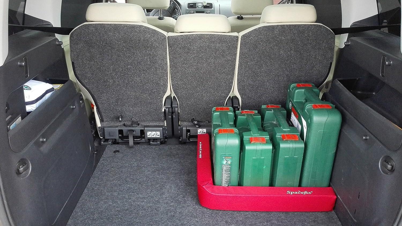 Amazon.es: Equipaje Fijación SPACEFIX® (Rojo) - original, práctico, elemento de fijación para el espacio de equipaje de su automóvil.