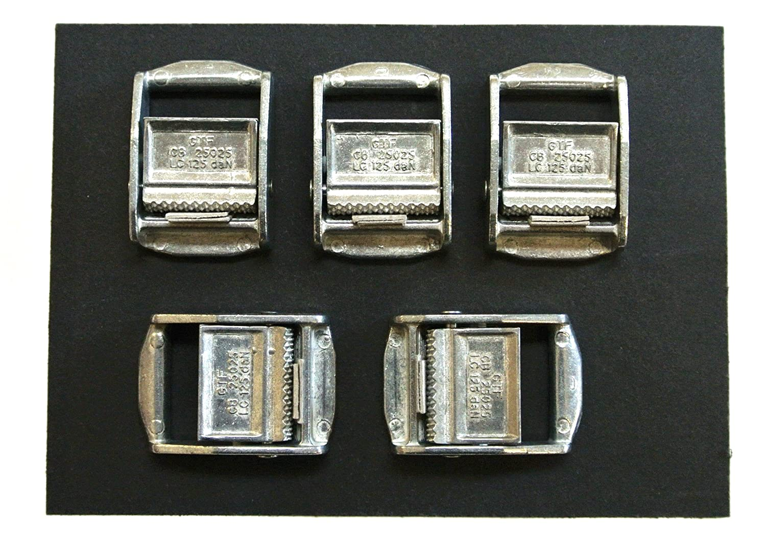 25mm Metal Cam Buckles For Webbing 250kg Webbing,Straps,Clasps Quantity 2