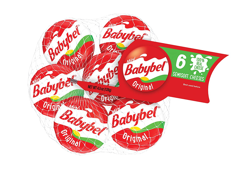 Babybel Cheese Mini, Original, 6 Count, 4.48 Oz