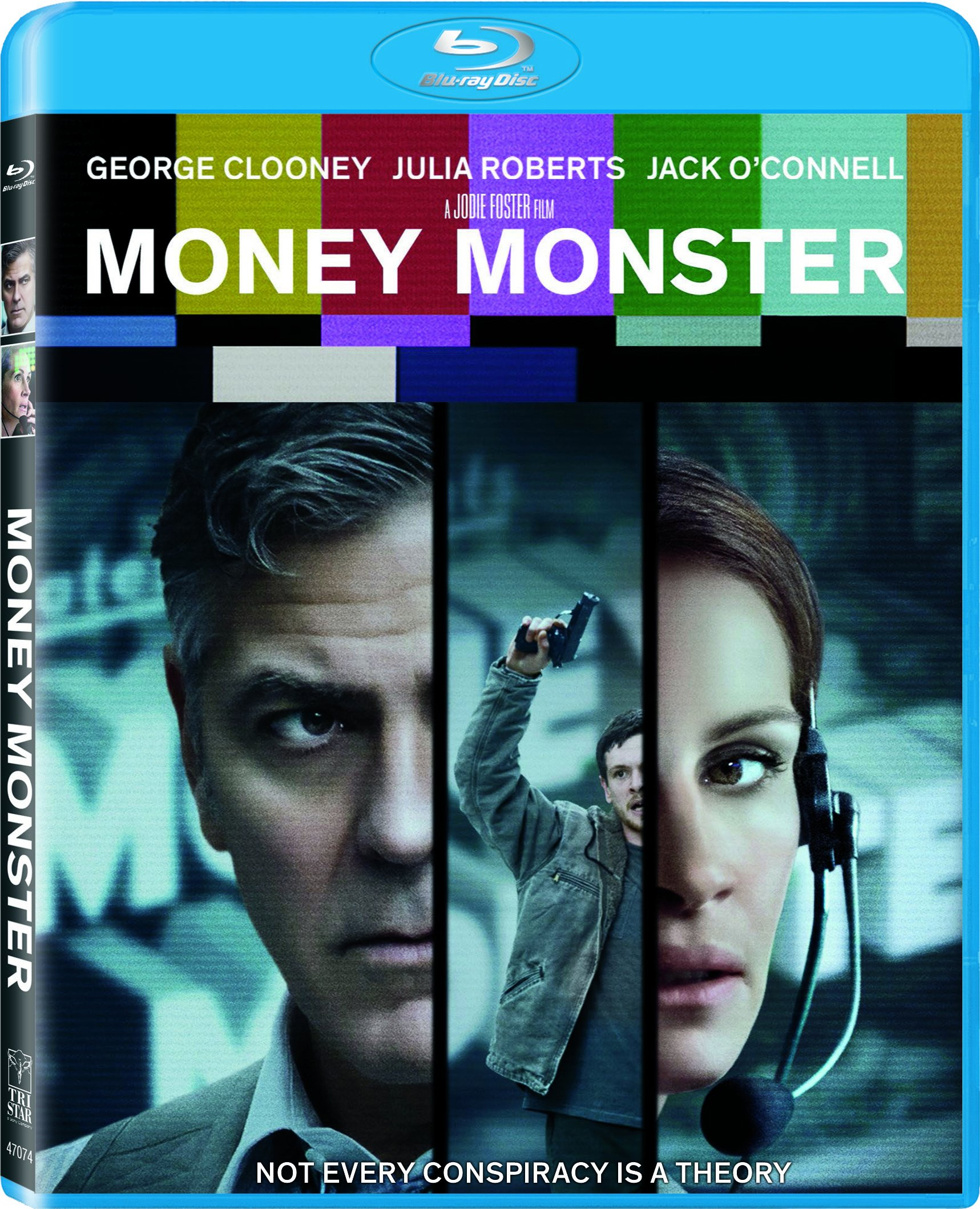 Blu-ray : Money Monster (Ultraviolet Digital Copy, Dubbed, Widescreen, Dolby, AC-3)